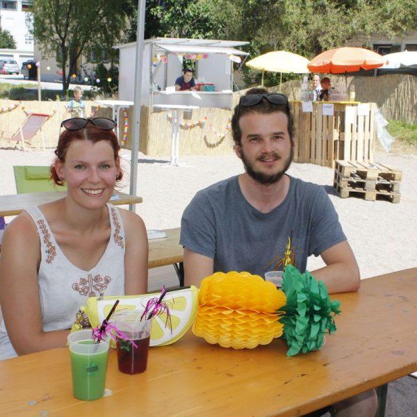 Stadtstrand Achterbahn - Mobile Jugendarbeit Wörgl im Juli 2016. Foto: Veronika Spielbichler