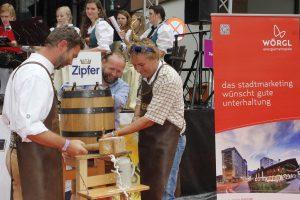 34. Wörgler Stadtfest am 9. Juli 2016. Foto: Veronika Spielbichler