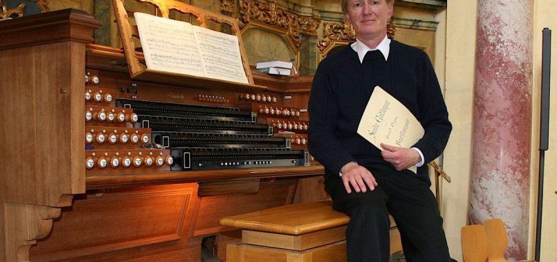Frank Herdegen gibt am 14. August 2016 in Hopfgarten ein Orgelkonzert. Foto: Herdegen