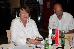 Gemeinderäte Mag. Gabi Madersbacher und Dr. Herbert Pertl. Foto: Veronika Spielbichler