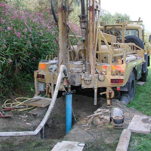 Bohrungen sind weiterer Bestandteil der Untergrunduntersuchungen. Foto: Geotechnik Hammer