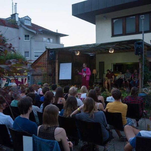 Am 19. August 2016 lädt die Kulturzone zu einem weiteren Poetry Slam. Foto: Kulturzone Wörgl