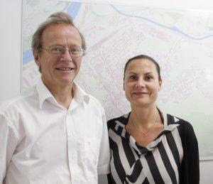 Stadtamt Wörgl - Leitungswechsel von Mag. Alois Steiner zu Mag. Simone Riedl im September 2016. Foto: Veronika Spielbichler