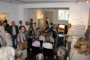"""Ausstellung """"NS Zwangsarbeit: Das vergessene Lager in Wörgl."""" Foto: Christian Spielbichler"""