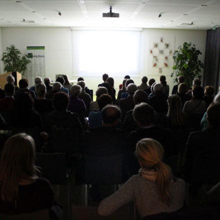 """Filmabend """"Landraub"""" im Tagungshaus Wörgl am 20. September 2016. Foto: Veronika Spielbichler"""