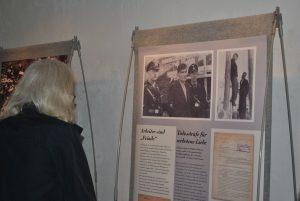 """Ausstellung """"NS Zwangsarbeit: Das vergessene Lager in Wörgl."""" Foto: David Spielbichler"""