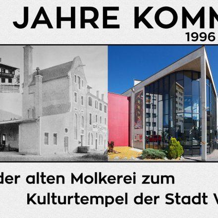 Einladung zur Jubiläumsausstellung 20 Jahre Komma. Foto: Komma