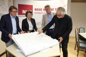 NHT Südtiroler Siedlung - Siegerprojekt Architektenwettbewerb 2016. Foto: Veronika Spielbichler