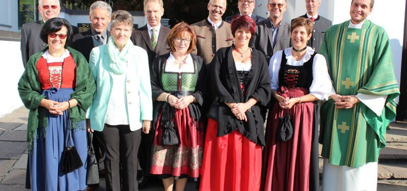 Jubelsonntag in Bruckhäusl am 16.10.2016. Foto: Veronika Spielbichler