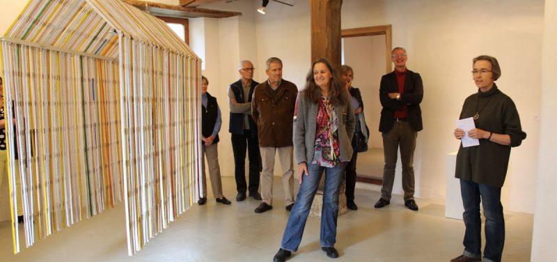 Ausstellung Anneliese Sojer im Kunstforum Troadkastn in Kramsach - Eröffnung 15.10.2016. Foto: Veronika Spielbichler