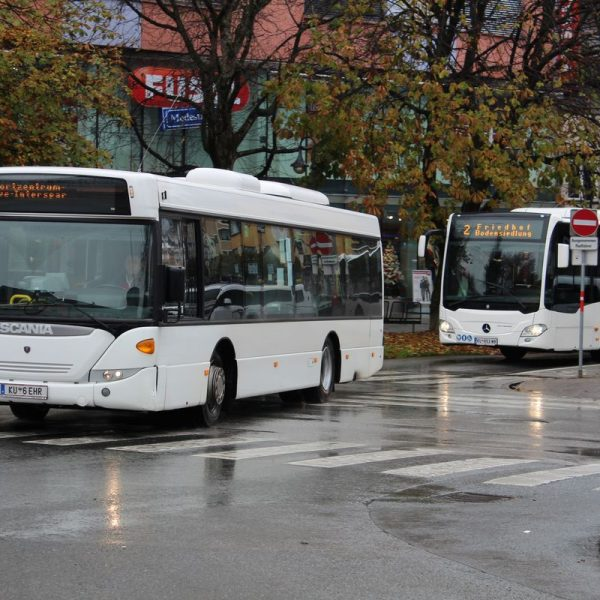 Ab 12. Dezember 2016 gelten neue Citybus-Fahrpläne in Wörgl. Foto: Veronika Spielbichler
