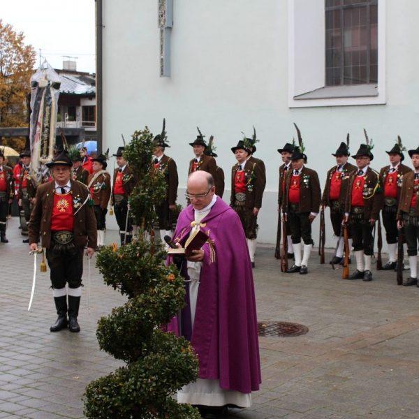 Schützenkompanie Wörgl - Jahreshauptversammlung 2016. Foto: Wilhelm Maier