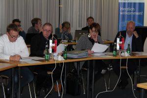 Wörgler Gemeinderat 3.11.2016. Foto: Veronika Spielbichler