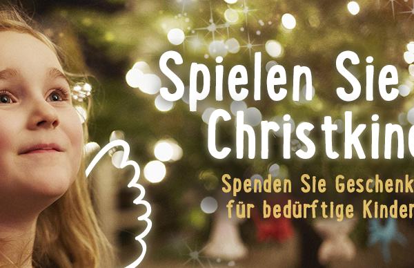 """Samariterbund und Post AG laden auch heuer wieder zur Aktion """"Spielen Sie Christkind"""". Foto: https://www.samariterbund.net/"""