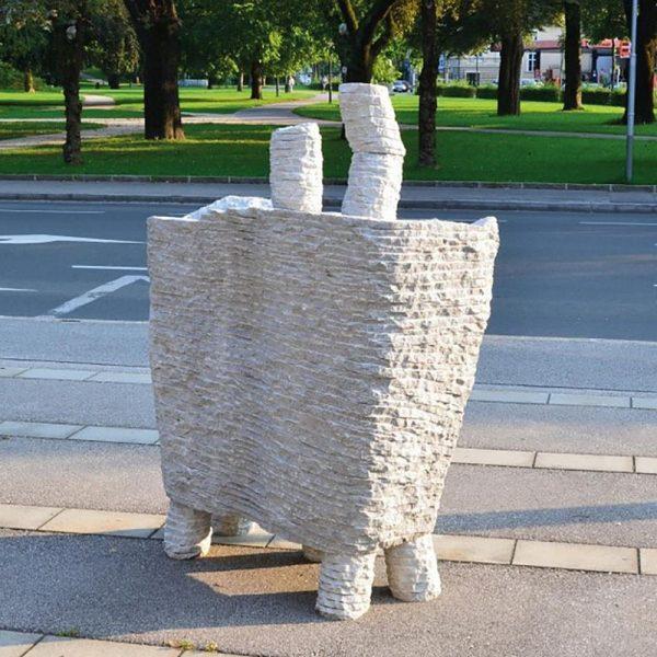 Skulptur von Erika Inger. Foto: privat