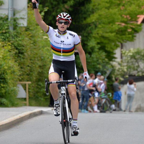Felix Galls Sieg in Soligetho. Foto: RC ARBÖ Tom Tailer