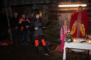 Bergweihnacht der Wörgler Krippeler beim Doagl 2016. Foto: Veronika Spielbichler
