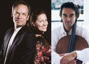 Benjamin Schmid, Adriane Hearing und Ramon Jaffé sind am 3.1.2017 beim Neujahrskonzert in Hopfgarten zu hören. Foto: Kammermusikverein Hopfgarten