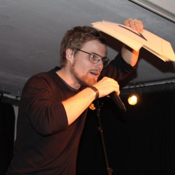 Kulturzone Poetry Slam am 16.12.2016. Foto: Veronika Spielbichler