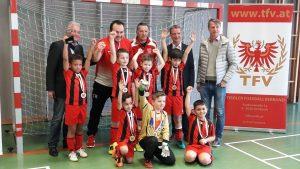 SV Wörgl - Tiroler Meistertitel für U08-Mannschaft. Foto: SV Wörgl