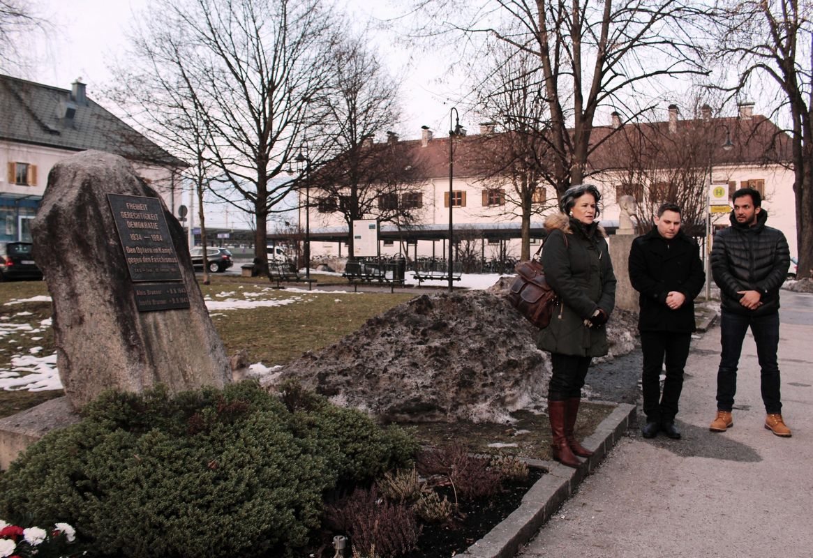 Gedenkfeier SPÖ 12. Februar 2017. Foto: Wilhelm Maier