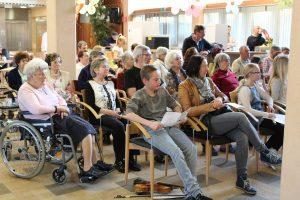 Gemischter Vortragsabend der LMS-Wörgl im Wörgler Seniorenheim am 28.3.2017. Foto: Veronika Spielbichler