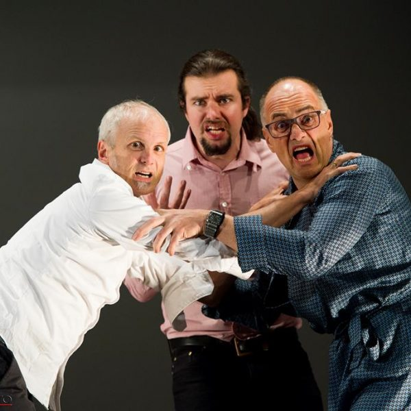 V.l. Thomas Kraft, Klaus Reitberger und Martin Heis. Foto: S. Größwang