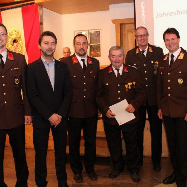 141. Jahreshauptversammlung der FF Wörgl. Foto: Wilhelm Maier