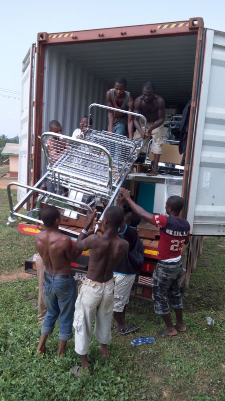 Grenzenlos helfen - Hilfsprojekt Elisabeth Cerwenka in Ghana. Foto: privat
