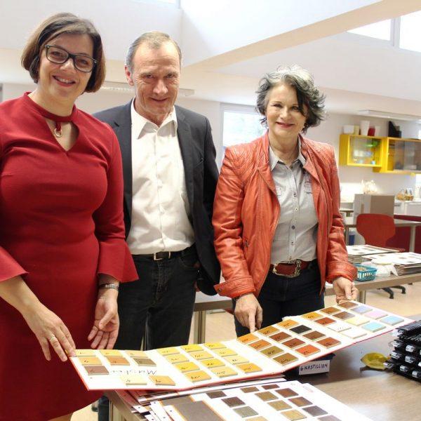 20 Jahre PSP Wörgl - v.l. Carmen Schwinghammer, Karl-Heinz Alber, Bgm. Hedi Wechner. Foto: Veronika Spielbichler