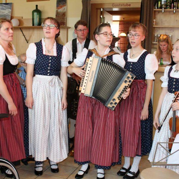 Musikantenhoagascht im Wörgler Volkshaus am 2. April 2017. Foto: Veronika Spielbichler
