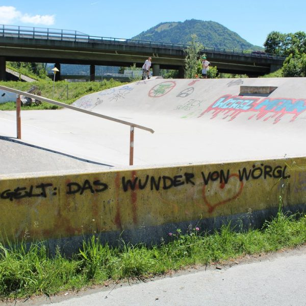 Skatepark Wörgl Mai 2017. Foto: Veronika Spielbichler