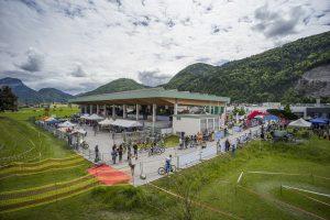 Der Wertstoffhof in Wörgl wurde für das eldoRADo in ein Bike-Paradies für die ganze Familie umfunktioniert. Bildnachweis Dabernig
