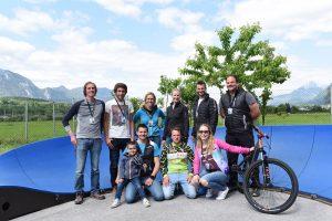 Das Organisationsteam rund um das eldoRADo Bikefestival freut sich über den positiven Ablauf der beiden Veranstaltungstage. Bildnachweis: ofp kommunikation