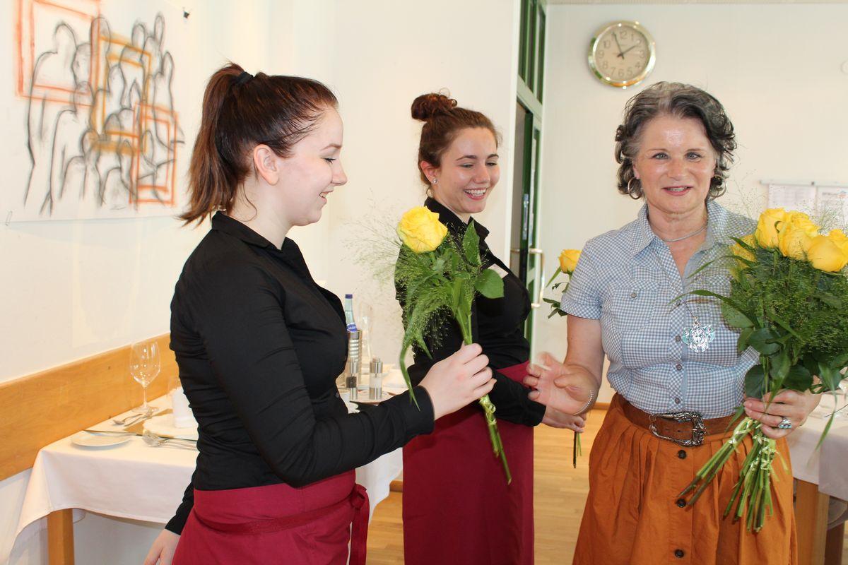 Prüfungsessen an der BFW Wörgl am 11. Juni 2017. Foto: Veronika Spielbichler