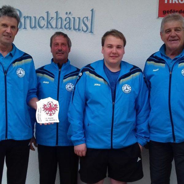 Von links Herbert Miess, Johannes Lanner, Markus Lanner, Michael Rauch. Foto: Wilhelm Maier