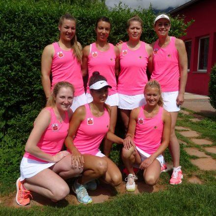 Die Wörgler Bundesligadamen: die Mischung aus Routine und jungen Spielerinnen stimmte und war für den Erfolg verantwortlich. Foto: TC Wörgl