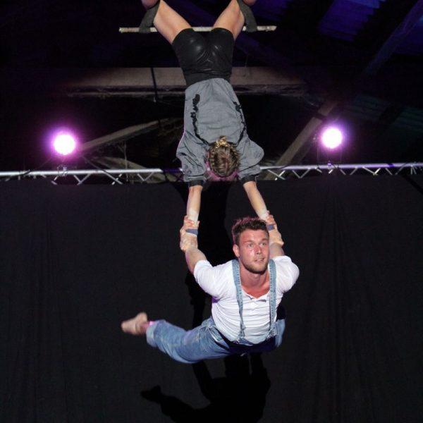 Galashow des 1. Circus and Movement Camps von Akrobatirol am 27. Mai 2017. Foto: Veronika Spielbichler