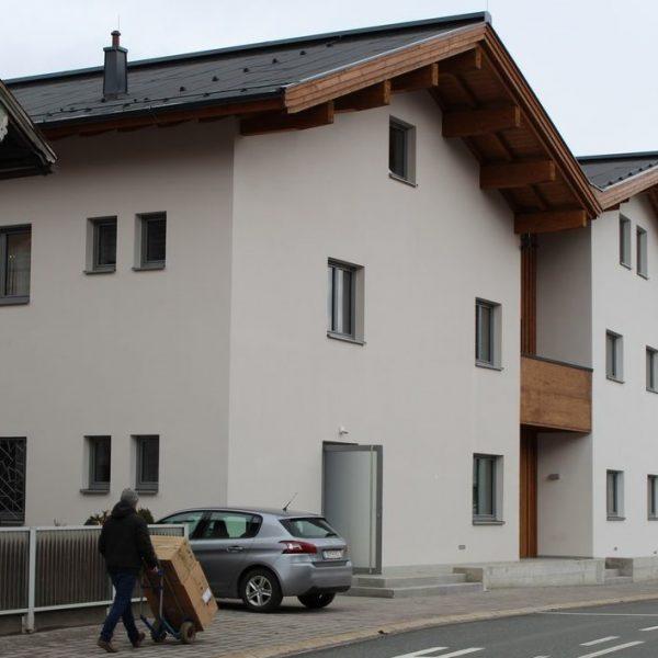 Musik- und Schützenhaus Bruckhäusl im Februar 2017. Foto: Veronika Spielbichler