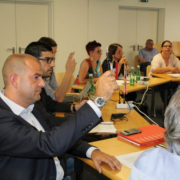 Wörgler Gemeinderat am 5. Juli 2017. Foto: Veronika Spielbichler
