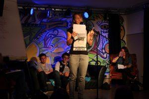 Kulturzone Poetry Slam am 14.7.2017. Foto: Veronika Spielbichler
