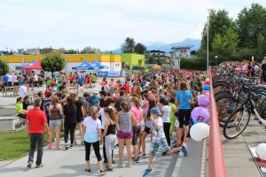 Spendenlauf Run 4 Charity am 27.6.2017 in Wörgl. Foto: Veronika Spielbichler