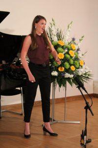 Academia Vocalis Meisterkurs Hanser Abschlusskonzert 13.8.2017. Foto: Veronika Spielbichler