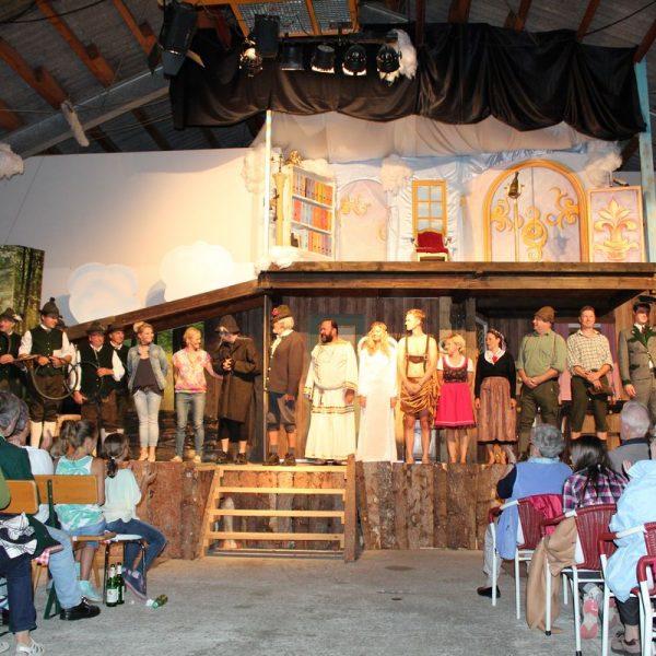 """Premiere """"Die G´schicht vom Brandner Kaspar"""" am 14.8.2017 in Westendorf. Foto: Veronika Spielbichler"""