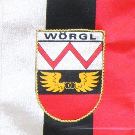 Wörgler Fahne. Foto: Veronika Spielbichler