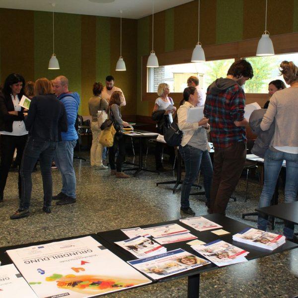 Bildungsmesse Flucht & Asyl am 29.9.2017 im Berger Logistik Center in Wörgl. Foto: Veronika Spielbichler