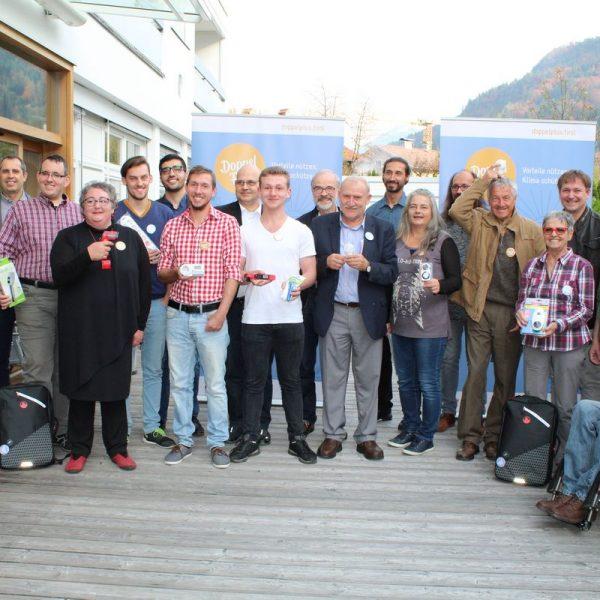 Zertifikat-Verleihung 13 neue Energie- und Klimacoaches am 21.10.2017 im Tagungshaus Wörgl. Foto: Veronika Spielbichler