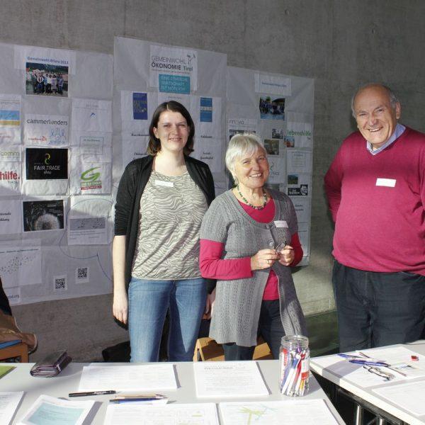 Hochschultage Innsbruck 2015 - Gemeinwohl-Ökonomie. Foto: Veronika Spielbichler