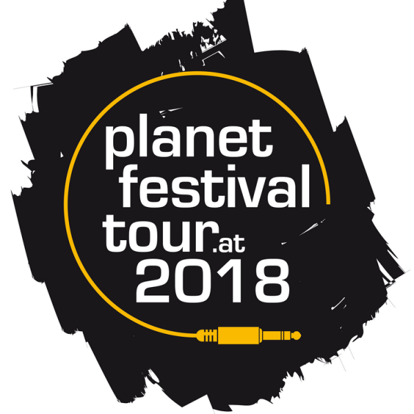 Logo Planet Festival Tour 2018.