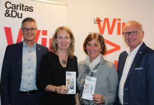 Neue Arbeit Personalservice von Caritas und AMS - Eröffnung am 28.11.2017 in Wörgl. Foto: Veronika Spielbichler